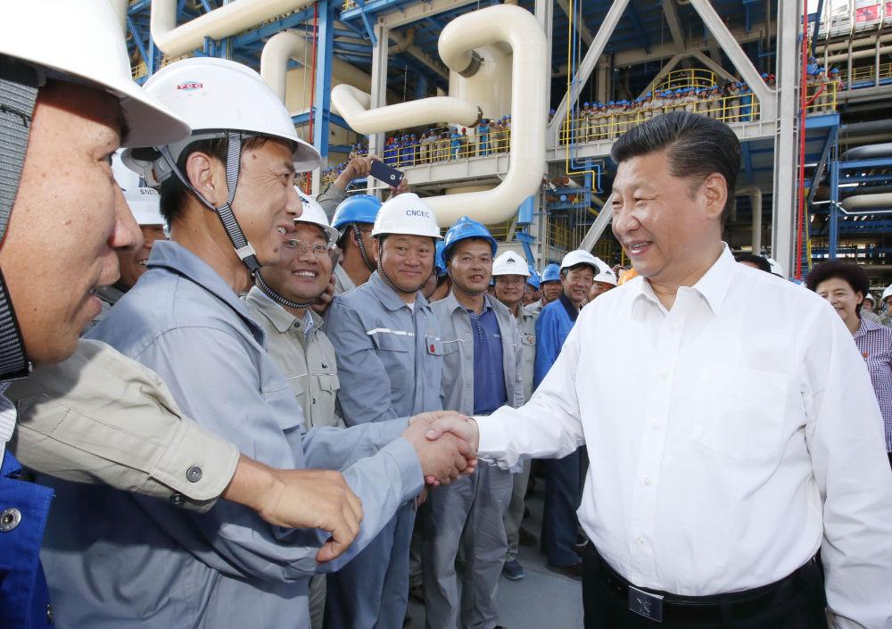 镜观·领航丨总书记指引能源产业走绿色低碳发展道路