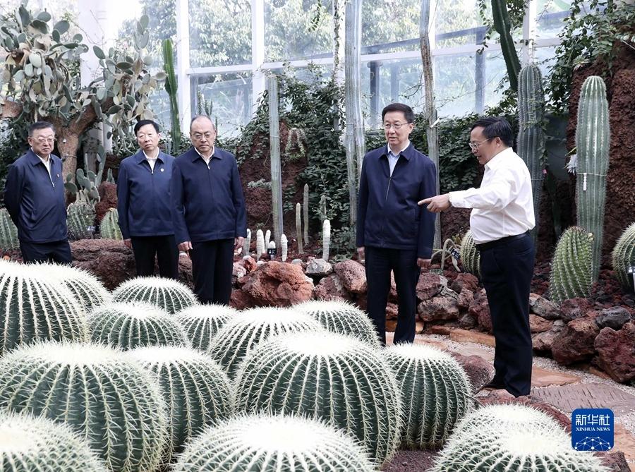 韩正:坚持生态优先绿色发展 争当生态文明建设排头兵
