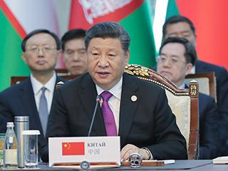習近平主席在上海合作組織成員國元首理事會第十九次會議上的講話