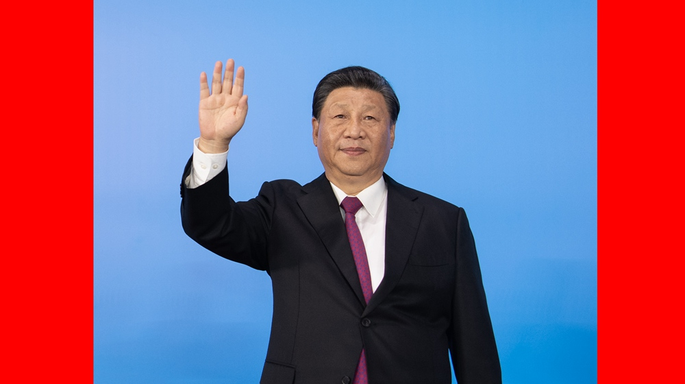 習近平出席第十四屆全國運動會開幕式並宣布運動會開幕