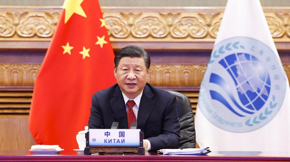 習近平出席上海合作組織和集體安全條約組織成員國領導人阿富汗問題聯合峰會