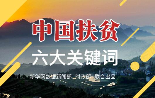 中国扶贫六大关键词