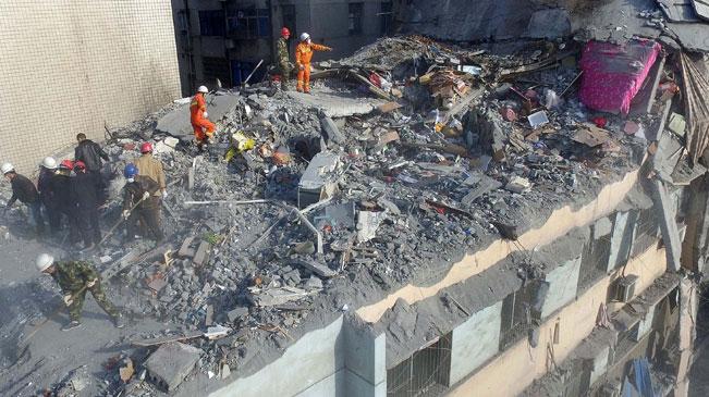 江西萍乡民楼坍塌事故搜救结束 造成6死1伤