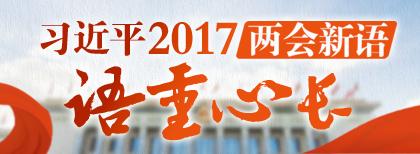 習近平2017兩會新語