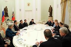 張德江會見普京並出席中俄議會合作委員會第三次會議