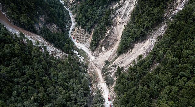 四川九寨溝縣發生7.0級地震