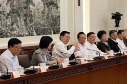 張德江主持召開全國人大常委會固體廢物污染環境防治法執法檢查組第二次全體會議