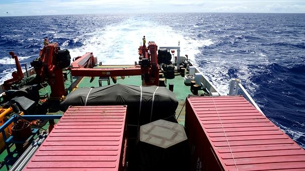 中國首次環球海洋綜合科考第三航段任務圓滿結束