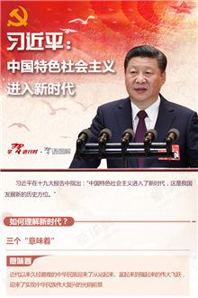習近平:中國特色社會主義進入新時代