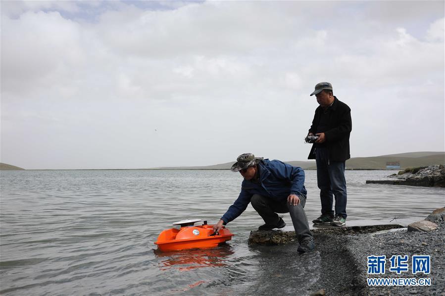 黃河源頭水文觀測記