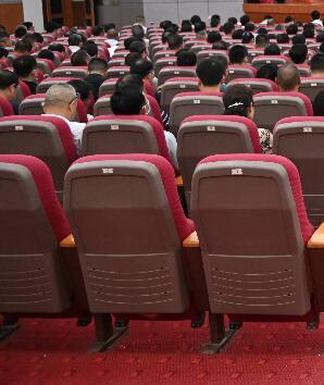李纪恒为民政部直属机关党员、干部讲专题党课