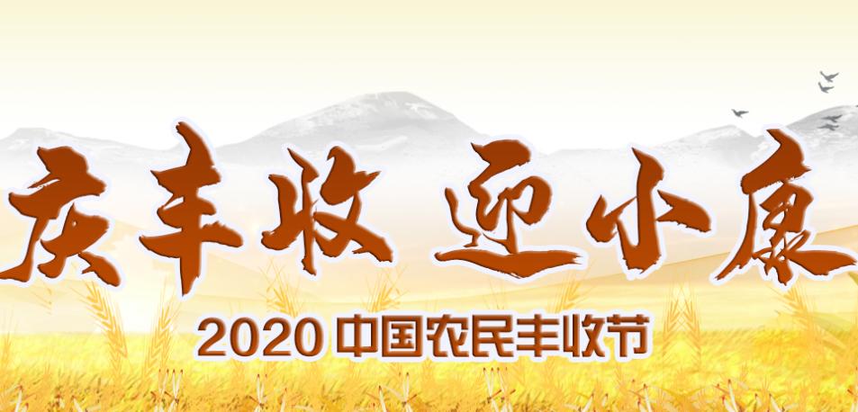 慶豐收 迎小康——2020中國農民豐收節