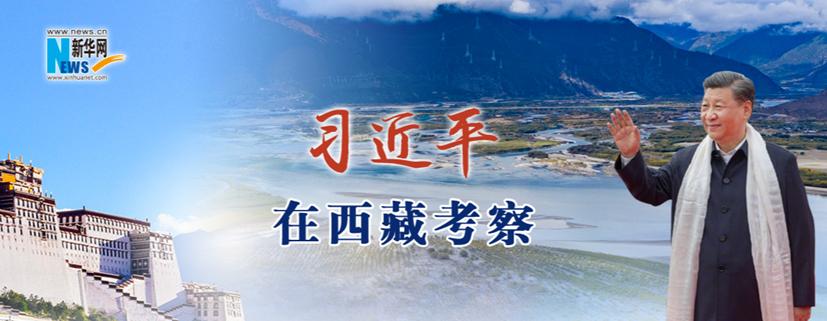 習近平在西藏考察