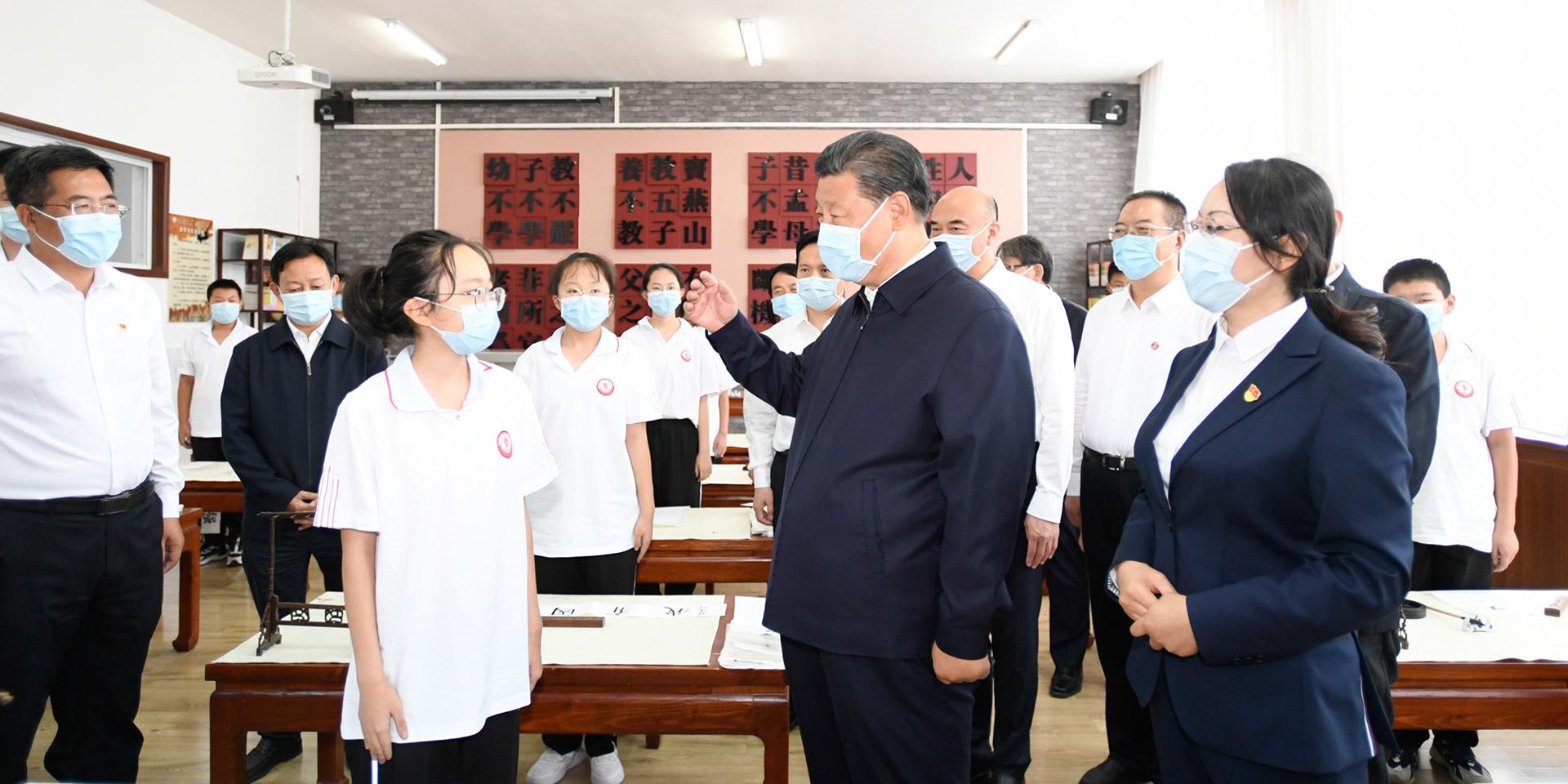 實現中華民族偉大復興,基礎在教育。
