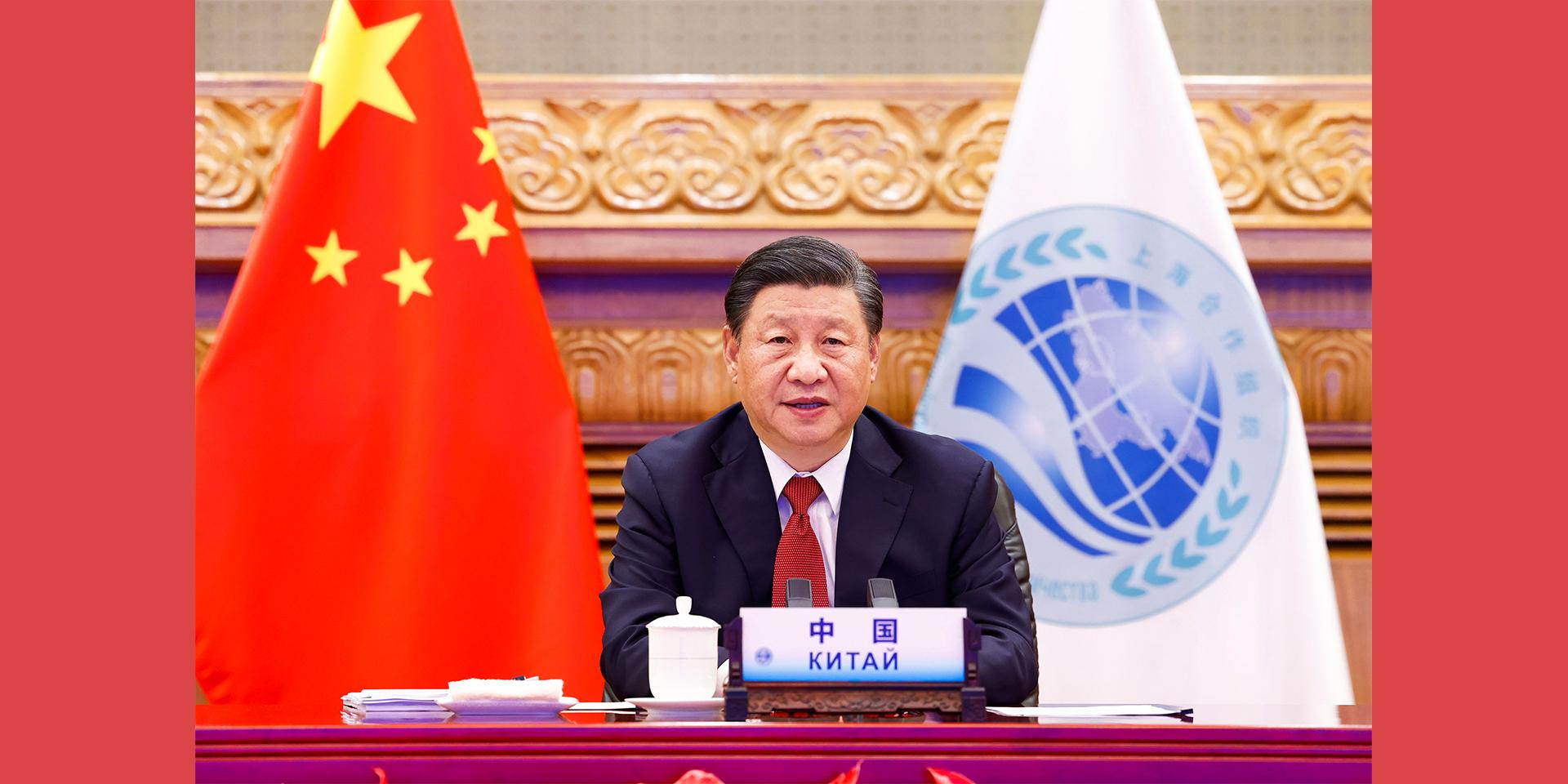 构建更加紧密的上海合作组织命运共同体。