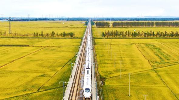 飛馳在千裏沃野,看豐收中國