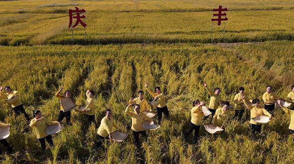 """""""塞上江南""""慶豐收"""