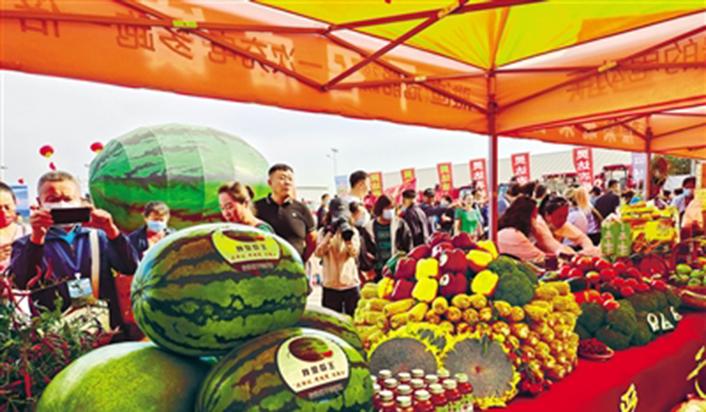 內蒙古各地歡慶第4個中國農民豐收節