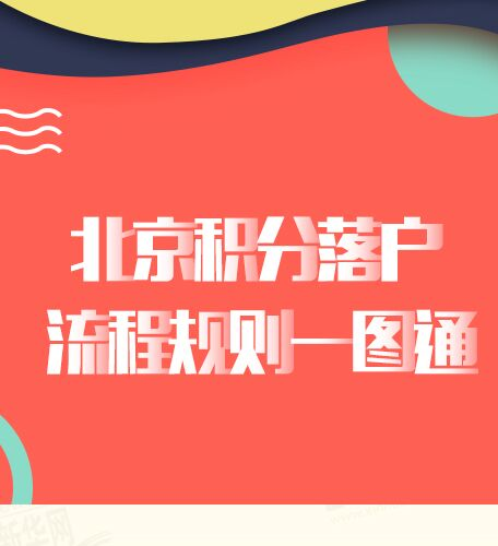 【圖解】北京積分落戶流程規則一圖通