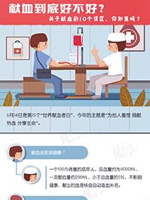 【圖解】獻血到底好不好?關于獻血的10個誤區,你知道嗎?