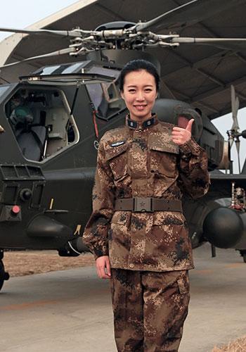 解放军新闻传播中心李小琳:军人的模样