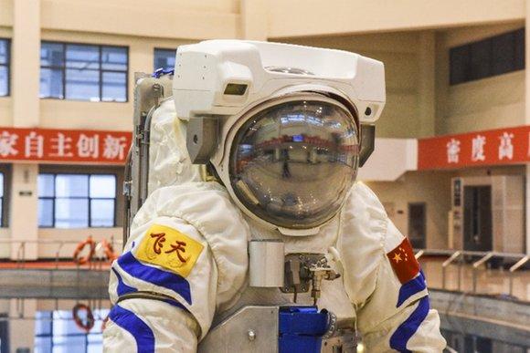 """中國空間站""""飛天""""水下訓練服首次亮相"""
