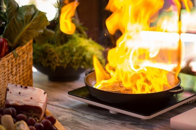 遇到油锅起火,你知道如何正确处理吗?