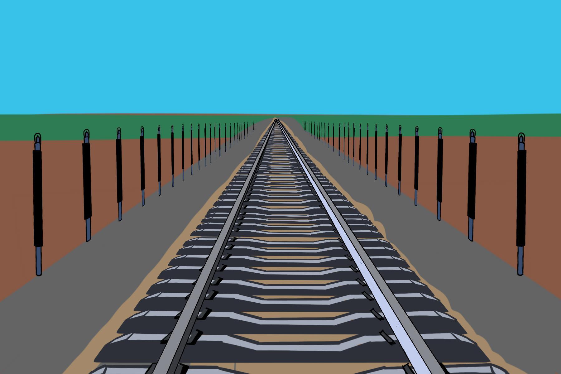 為什麼青藏鐵路兩邊有熱棒?