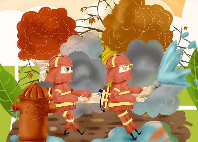 森林火灾的三因素