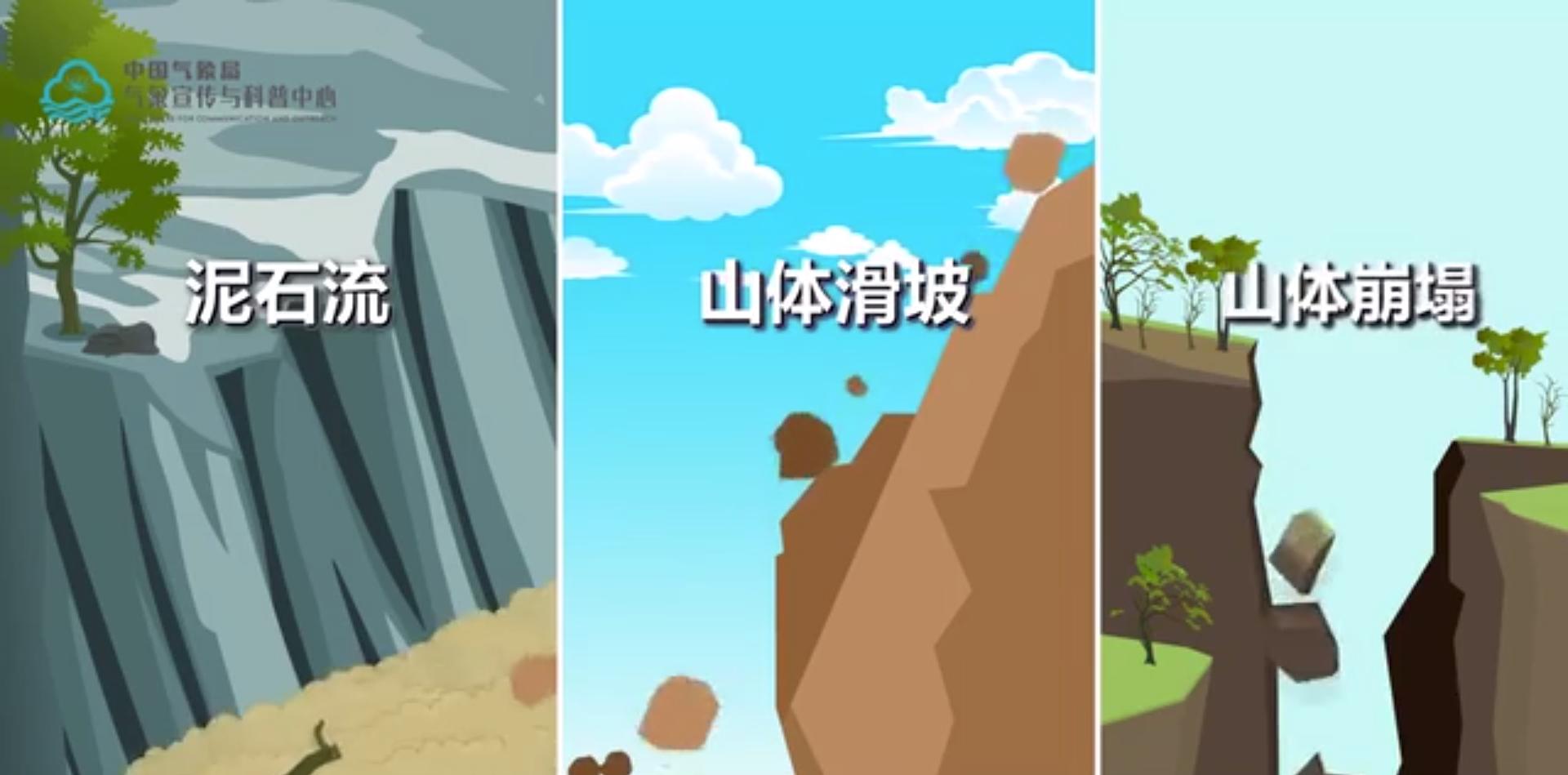 遇到山洪地质灾害如何逃生?