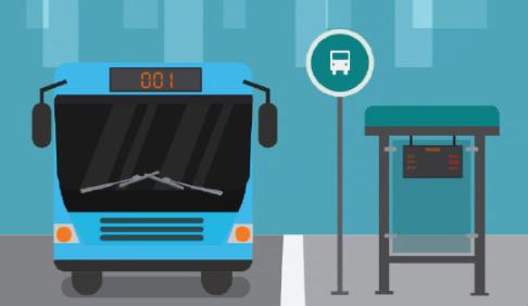 乘坐公共汽车安全提示