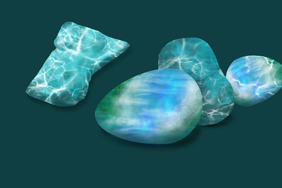 凝聚水波的宝石——海纹石