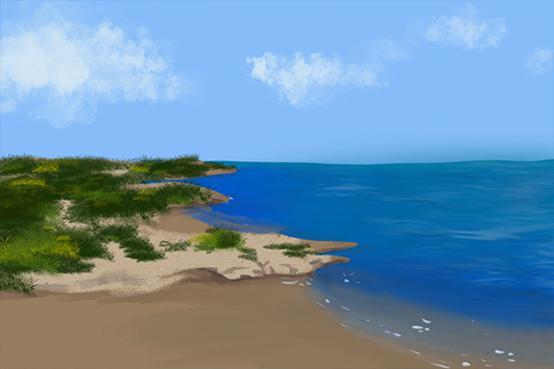 岬角——陆地和海洋的亲密接触