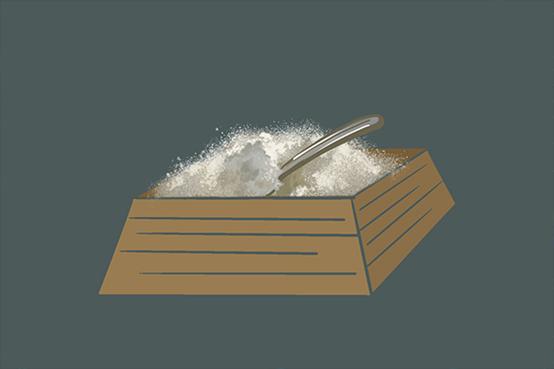 食盐为什么容易结块?