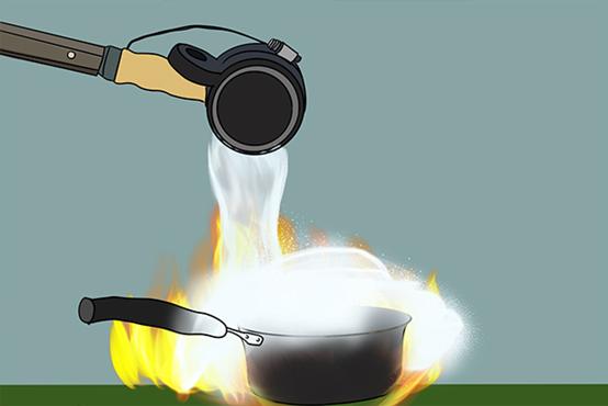 为什么水落在油锅里会爆炸?
