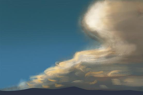 """神秘的""""天外来客""""——荚状云"""