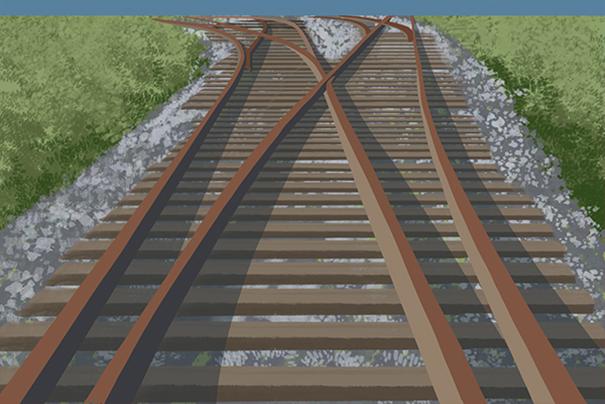 为什么铁轨不直接铺设在地面上?