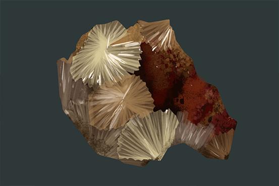 瑰丽的宝石——叶腊石