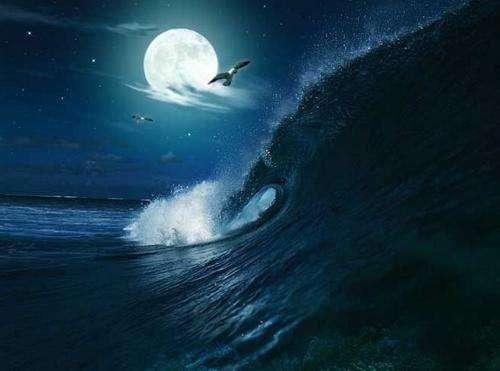 月亮對潮汐的作用