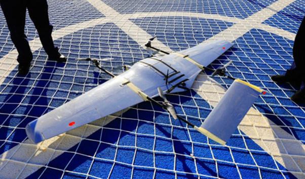 """中國遠望3號""""小飛機""""海上首飛試驗成功"""