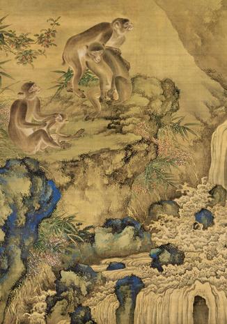 盤點古畫中的那些猴