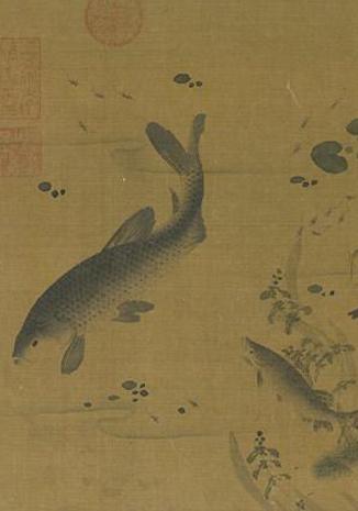 歷代名家畫魚