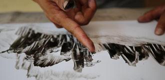手指繪峰林 山水張家界
