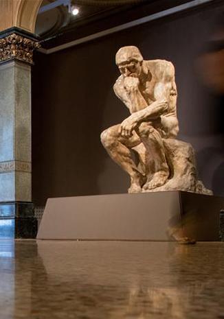 巴塞羅那舉辦羅丹雕塑展