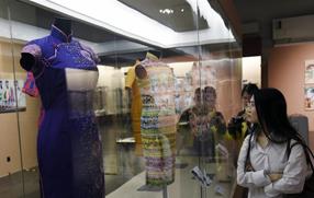 百年長衫展揭示香港時尚流變
