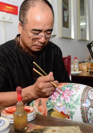 織金彩瓷 傳承匠心