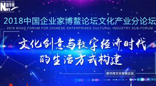 2018中國企業家博鰲論壇文化産業分論壇