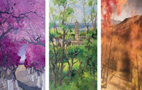 京彩70年繪畫精品展