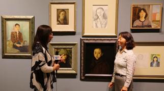 著名女藝術家佟芃芃的畫中世界