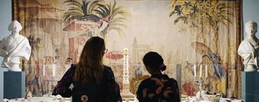 丹麥王公貴族織繡品展
